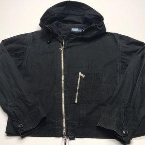 🆕 RALPH LAUREN POLO Men's XL Black Coat